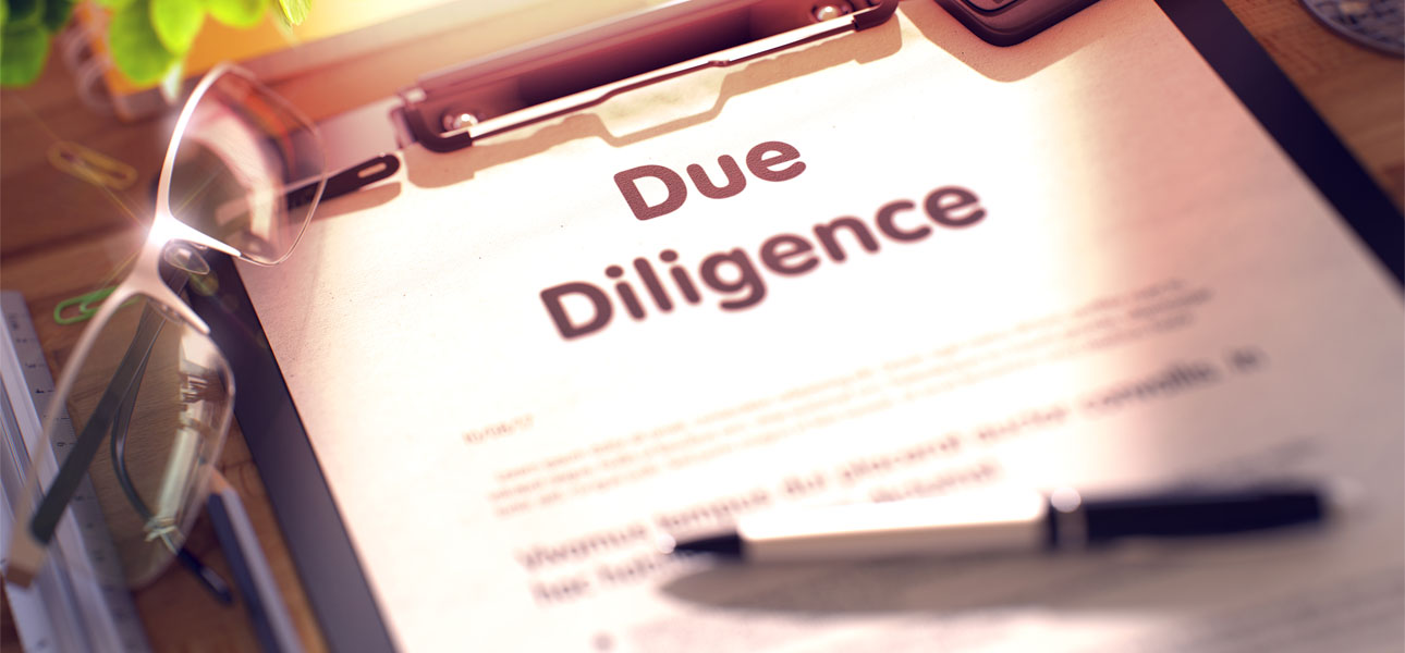 Due diligence checks on all Publishers
